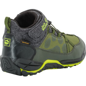 Jack Wolfskin Jungle Gym Texapore Mid Shoes Kids gorilla